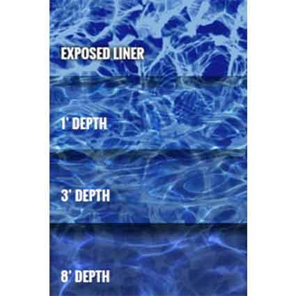 Blue Diffusion Inground Onground Pool Liner Aqua Bay