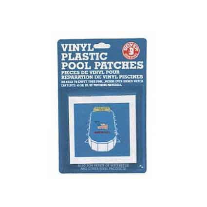 Boxer Vinyl Plastic Pool Patches Tape 40 Square Inches
