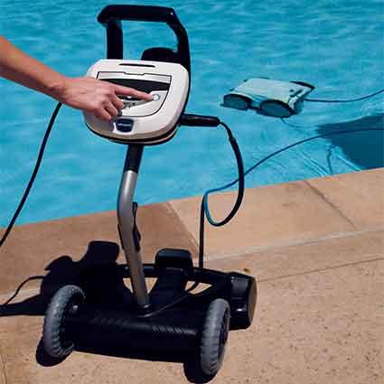 Polaris P945 4wd Robotic Automatic Pool Cleaner Aqua Bay