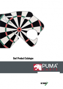 Puma Darts Catalogue